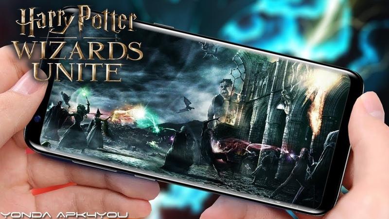 Harry Potter_ Wizards Unite - Кинематографичный Трейлер, harry potter wizards unite,