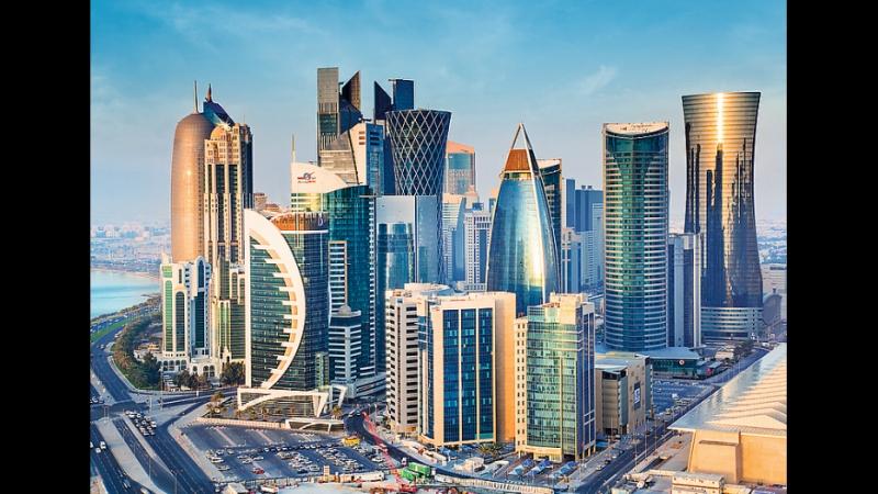 Яркая столица Катара! Доха - очень красивый город!