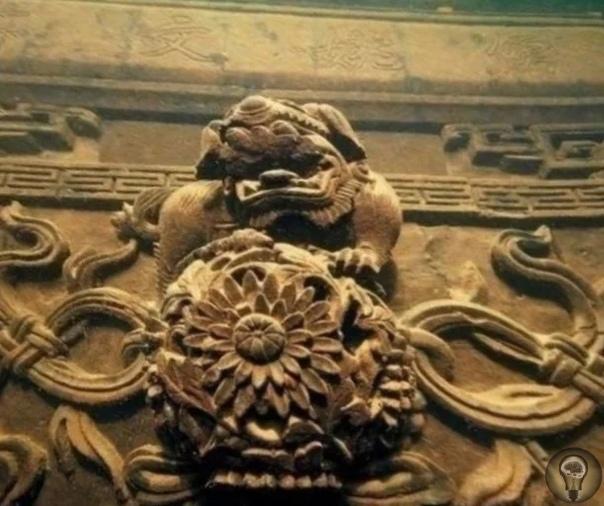 Древний китайский город, скрытый под водой Ши Чэн Строительство дамб необходимое мероприятие при возведении гидроэлектростанций, но нередко при этом происходит масштабное затопление равнинных