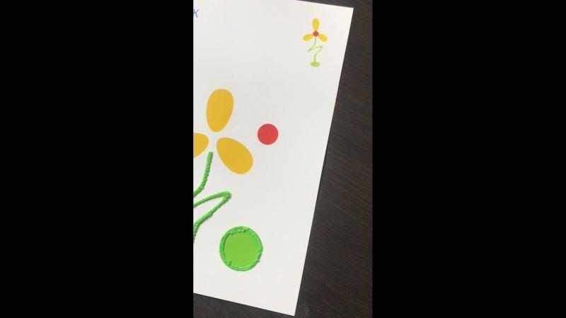 Цветок 💐 3D-ручкой. Скоро Розыгрыш 3D-Ручки