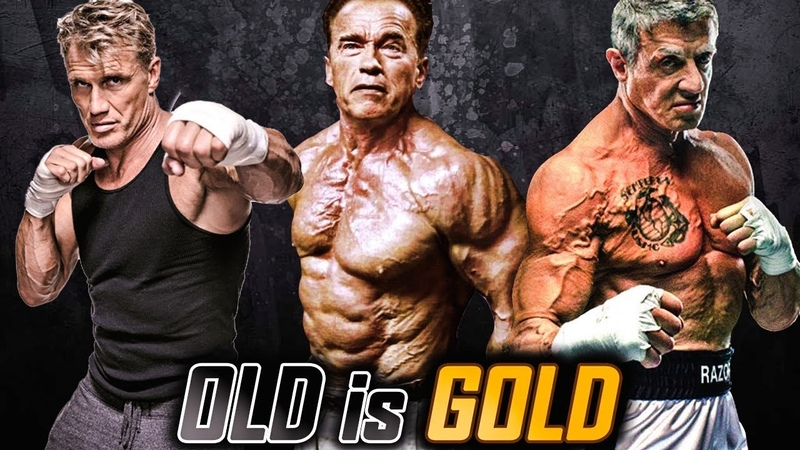 OLD is GOLD 3 - Action Stars - Martial Arts Motivational Video