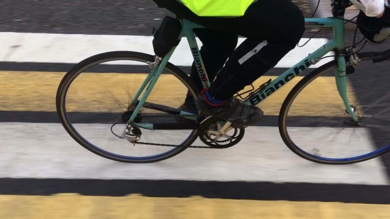 На велосипеде на работу Липецк 2018