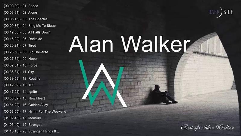 Best Of Alan Walker - Alan Walker Greatest Hits - Top 20 Alan Walker