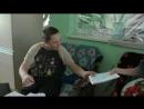 визит корреспондента к тимуровцам