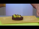 Лепим птичье гнездо - Поделки из пластилина