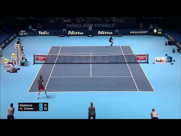 Итоговый турнир ATP: Джокович нанёс поражение Звереву