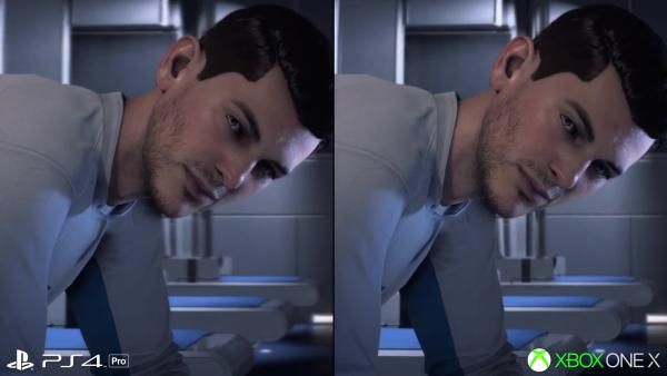 Mass Effect Andromeda Xbox One X vs PS4 Pro - улучшенная производительность на X
