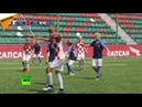 La finale du Mondial France Croatie a été parfaitement reproduite… par des enfants russes