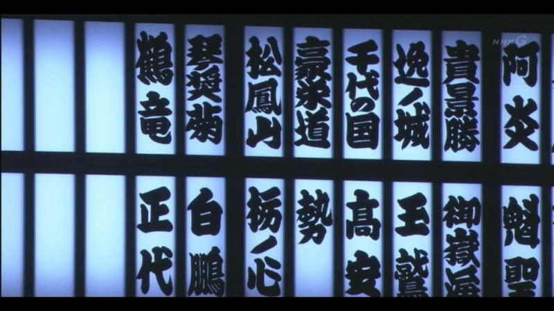 大相撲 幕内の全取組「名古屋場所 三日目」