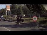Инцидент с велосипедистом на Лежневской