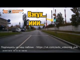Баг светофора. Осторожно мат!