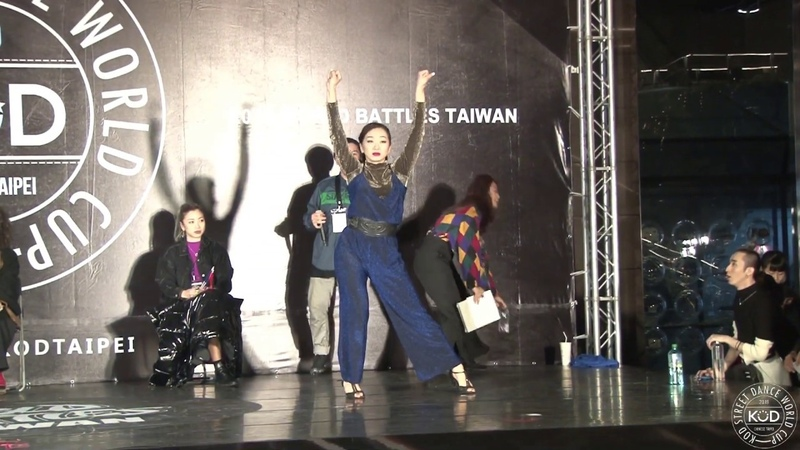 Elvis VS Maya [ Best 8-1 ] - 2019 KOD TAIPEI WAACKING 1ON1