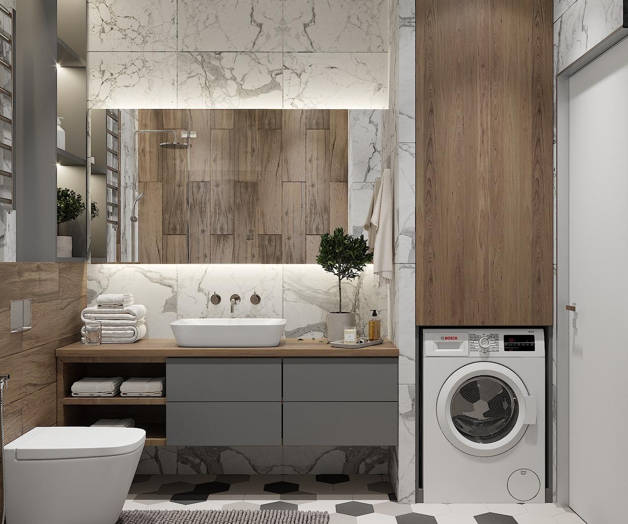 Проект квартиры в Москве 54 кв.