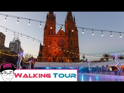 Walking Tour Around Hyde Park, St Mary's Cathedral and Ice Skating in the CBD Sydney What's On