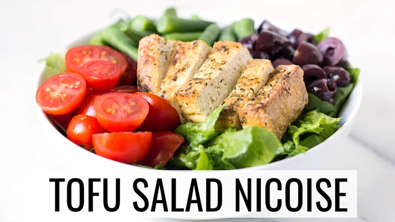 TOFU SALAD NICOISE | healthy lunch idea | SALADWEEK