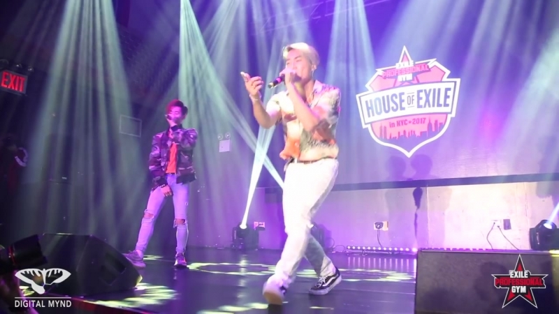 Jr.EXILE from PROJECT TARO Live Performance at HOUSE OF EXILE May.27th.2017