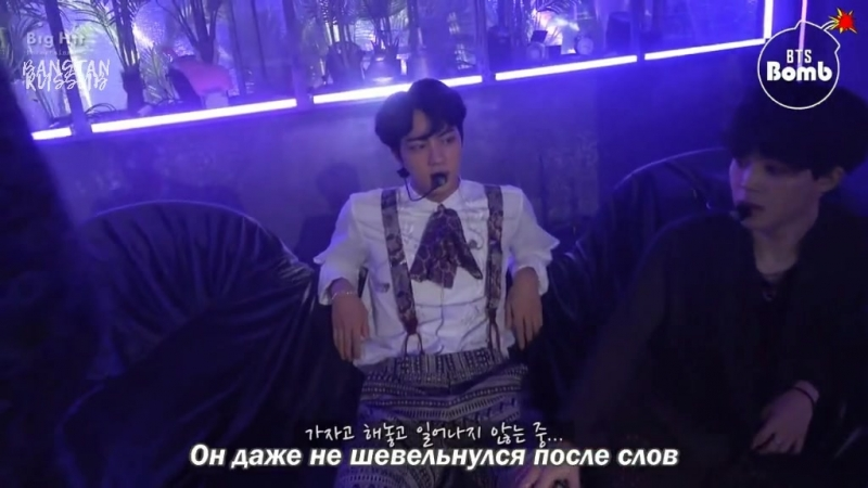 [RUS SUB] Who gets up at the end