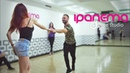 Maxim Chistokletov and Evgenia Stecenko. Zouk Demo. Ipanema Dance Studio Mulher Perfeita