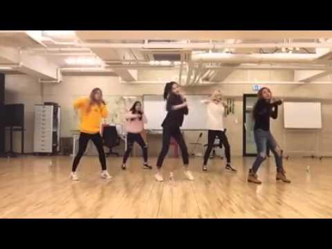 PRODUCE 101 (이진희, 김다니, 황세영, 박세희, 김민정) - F(x) 라차타 Dance Practice