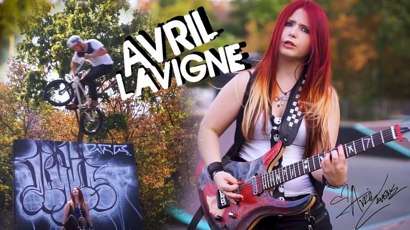 AVRIL LAVIGNE Sk8er Boi GUITAR COVER Jassy J