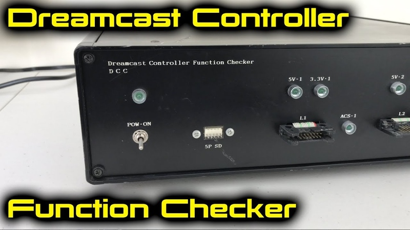 Sega Dreamcast Controller Function Checker Overview