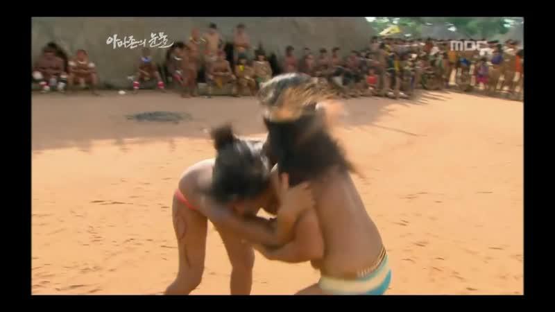 Amazon women's wrestling