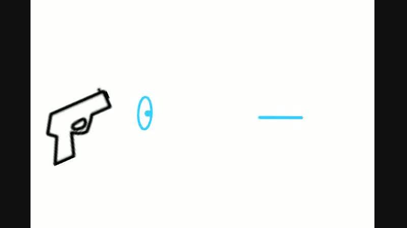 тест эффекта выстрела и лазера выстрела