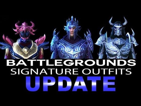 ESO Battlegrounds Signature Outfits - Elder Scrolls Online