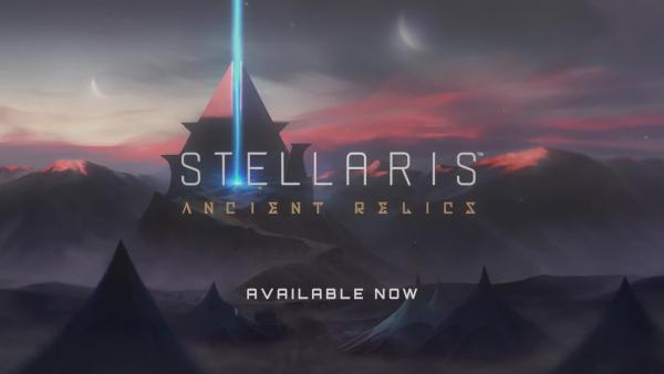 Релизный трейлер дополнение Ancient Relics для Stellaris