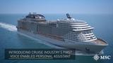 Next Generation Cruise Experience  MSC Cruises and HARMAN