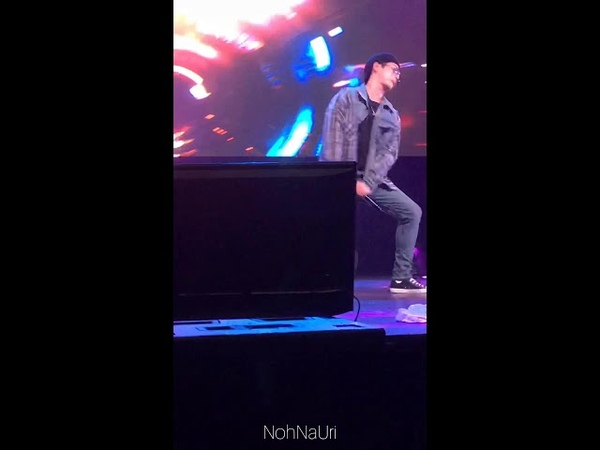 [Fancam] 10.11.18 B.A.P That's My Jam Do What I Feel Himchan focus) @ 2018 B.A.P. North America Tour FOREVER - Индио