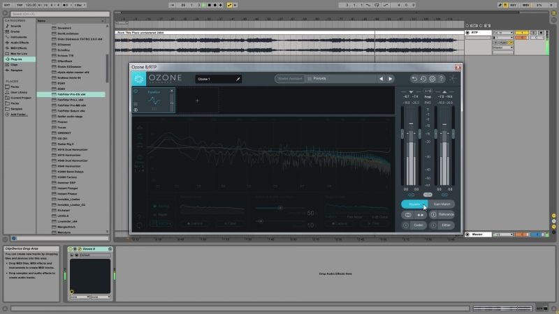 Academy.fm - Quick Fix How To Use The Ozone Match EQ Function To Improve Your Mix