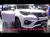 2017 Toyota Fortuner - best affordable SUV for family TRD Sportivo Z4, 4WD, 2.8 1GD-FTV