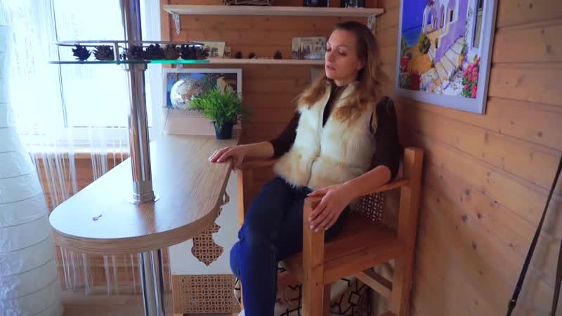 Барное кресло своими руками А что это там за стульчик