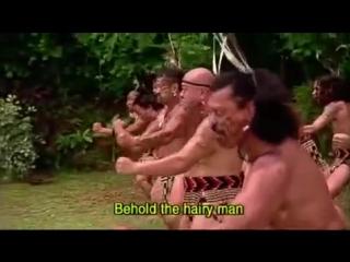 Original maori haka dance
