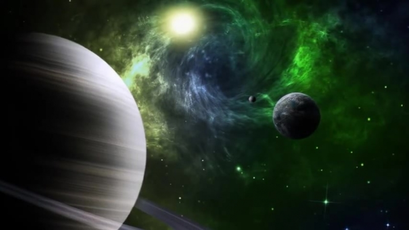 завораживающая космическая музыка...и вселенная.mp4