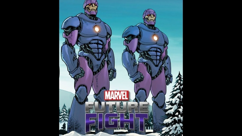 Marvel Future Fight T2 Sentinels Review 漫威未來之戰 T2哨兵 導覽