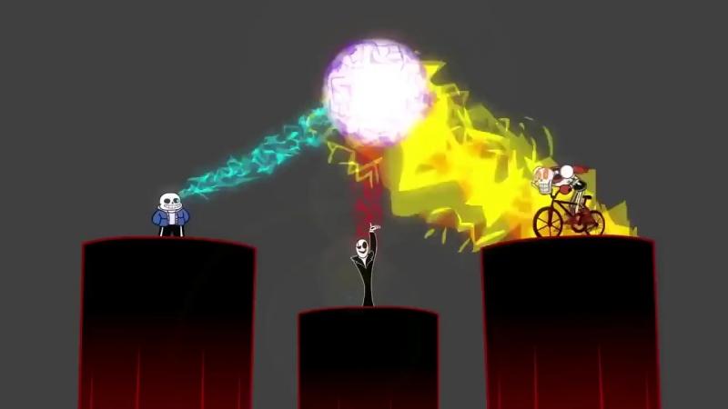 Заклинания гастера (анимация андэртэил)