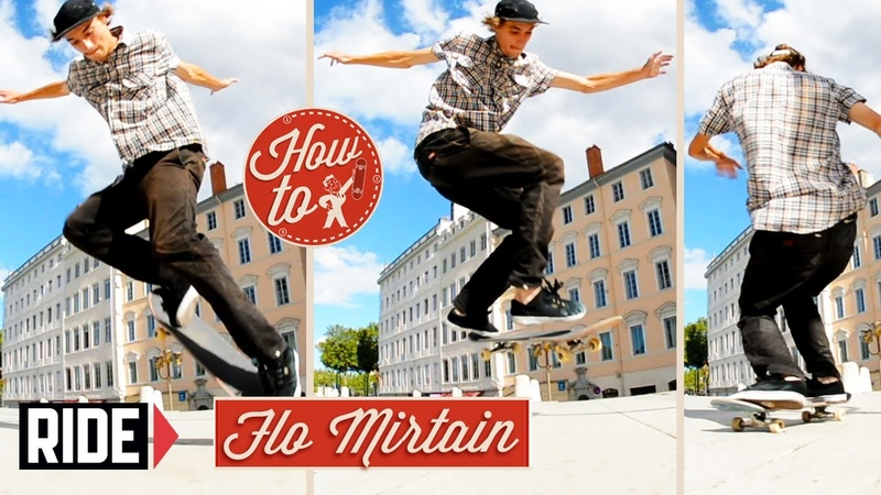 How-To Skateboarding: Backside 360 with Flo Mirtain
