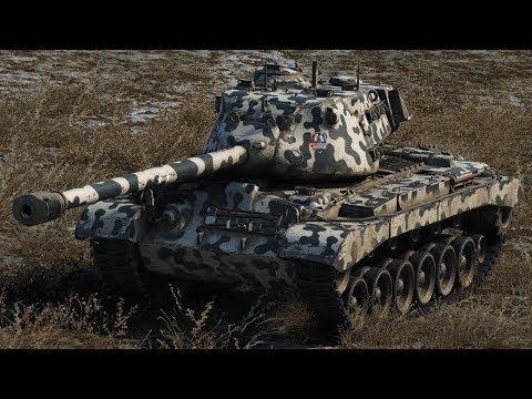 Wot Blitz | М46 Patton ТАЩИТ НА НОВОЙ КАРТЕ 6к