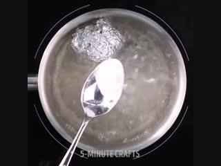 Как почистить серебряные вещи