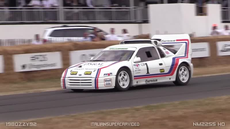 Ford RS200 EVO 650HP 2.1 Cosworth 1986