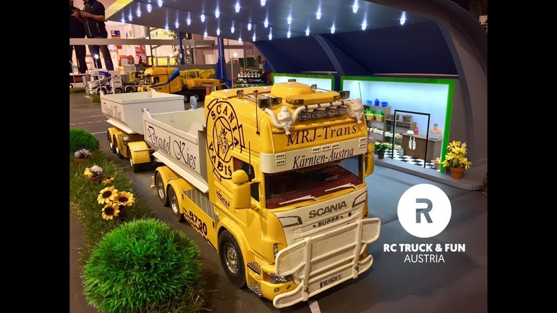 RC Truck Action @ Messe Klagenfurt I 2017 I Austria