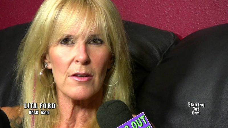 LITA FORD talks with Eric Blair about her new cd Living Like A Runaway