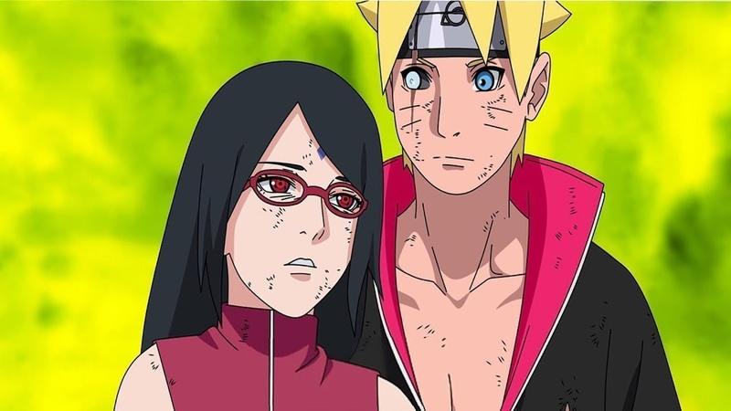 Boruto 「AMV」 - Boruto Sarada and Naruto Sasuke - Shadows