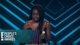 Danai Gurira Wins Action Movie Star of 2018 E! People's Choice Awards