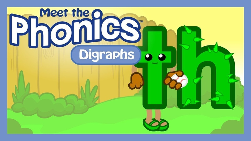 Meet the Phonics Digraphs - th