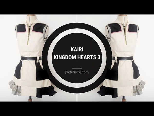 Kairi Kingdom Hearts 3 | Sewing Cosplay Tutorial