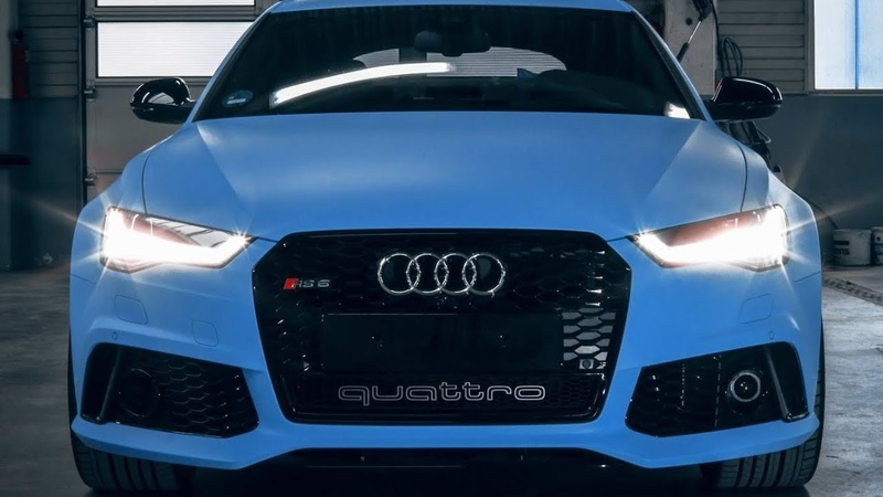 Audi RS6 Performance in Porsche Blue Satin (1 of 1)