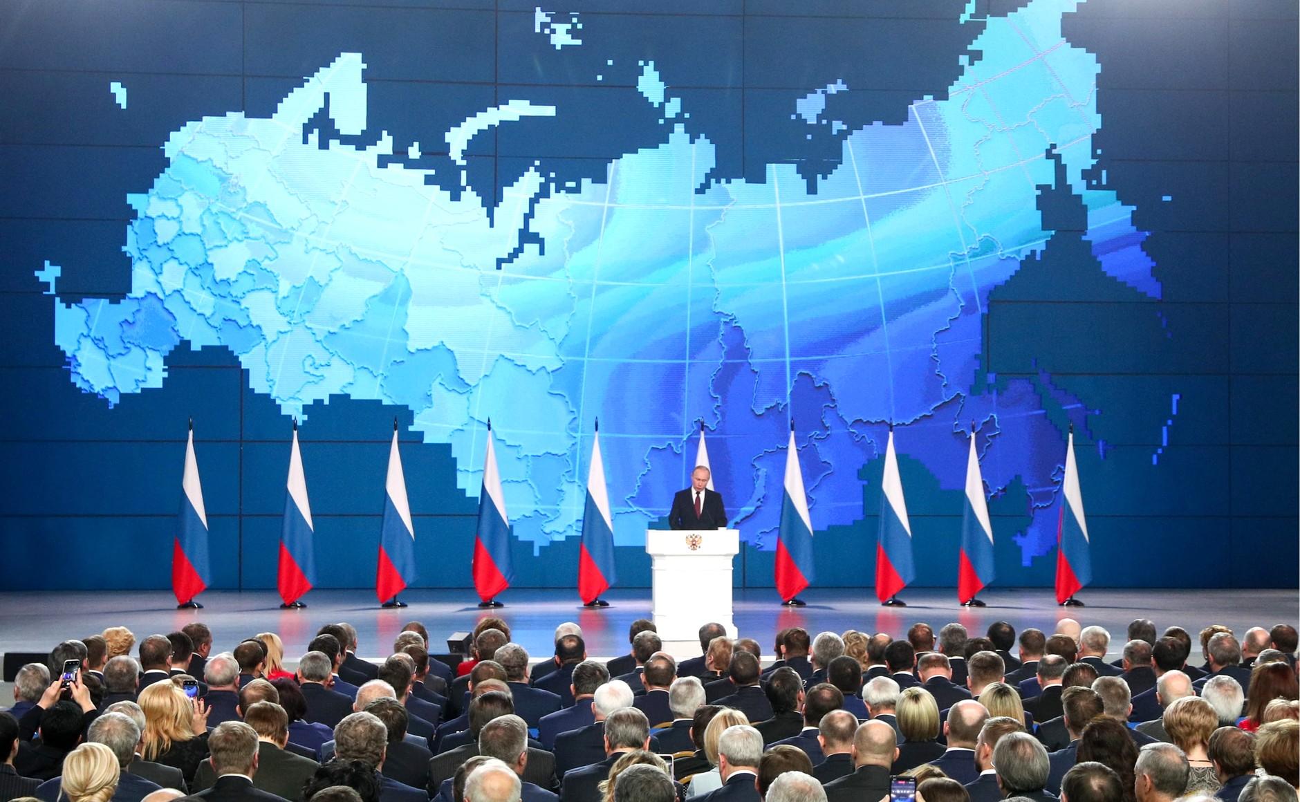 Декларация добрых намерений лучше, чем демонстрация агрессии. Об очередном послании Путина